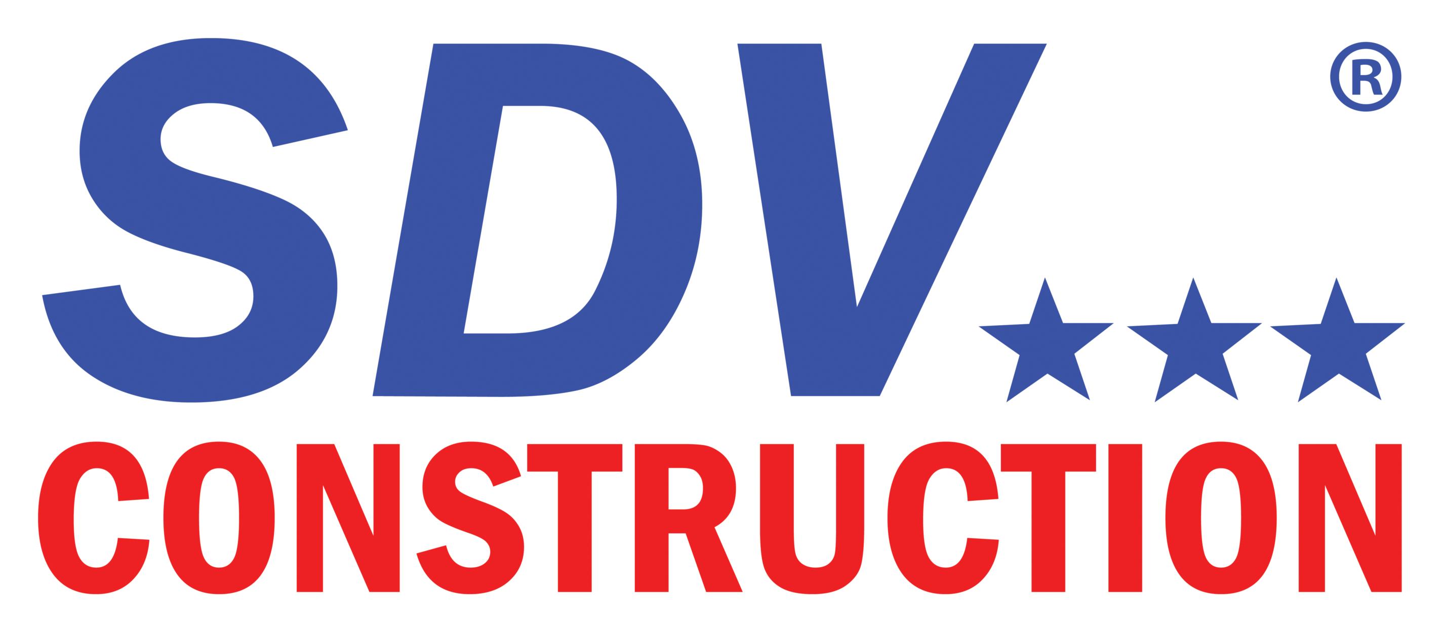 SDV Construction, Inc. logo