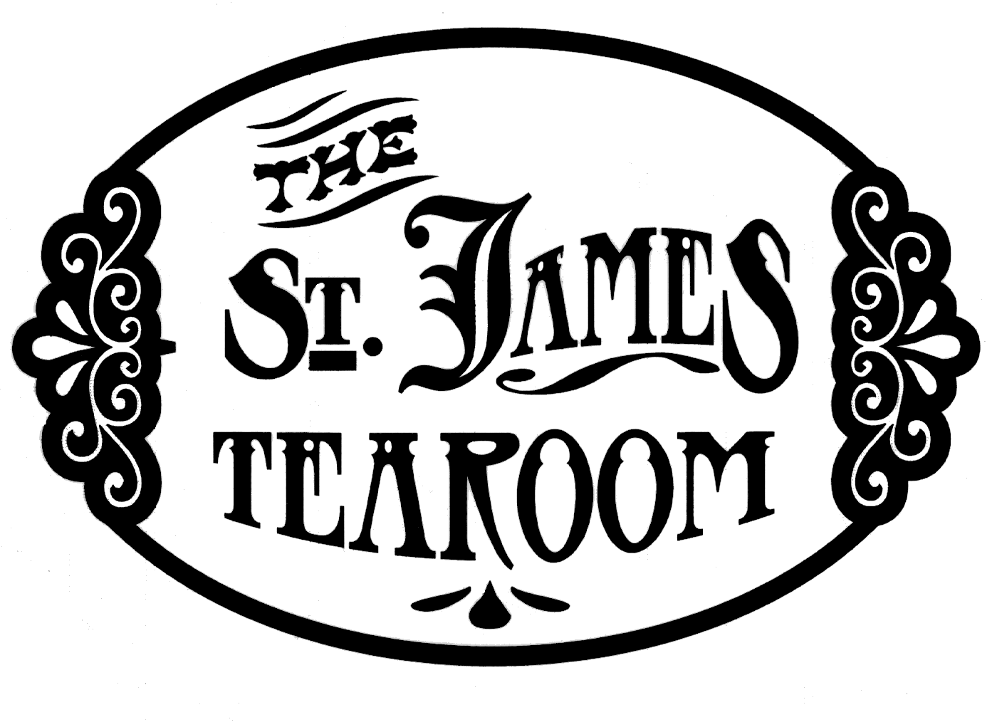 The St. James Tearoom Company Logo