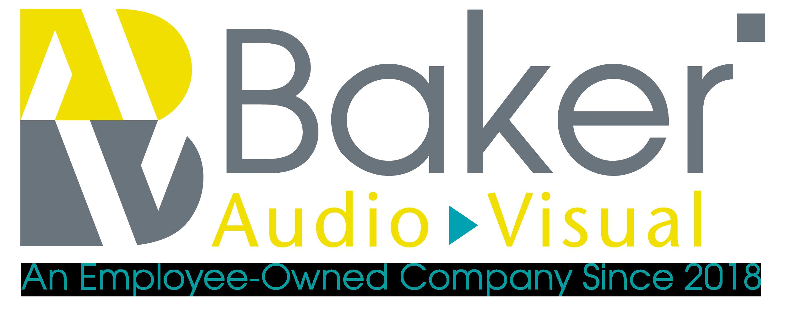 Baker Audio Visual Company Logo