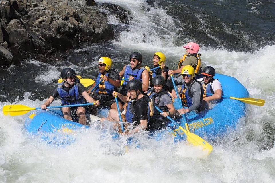 Our annual rafting and camping trip