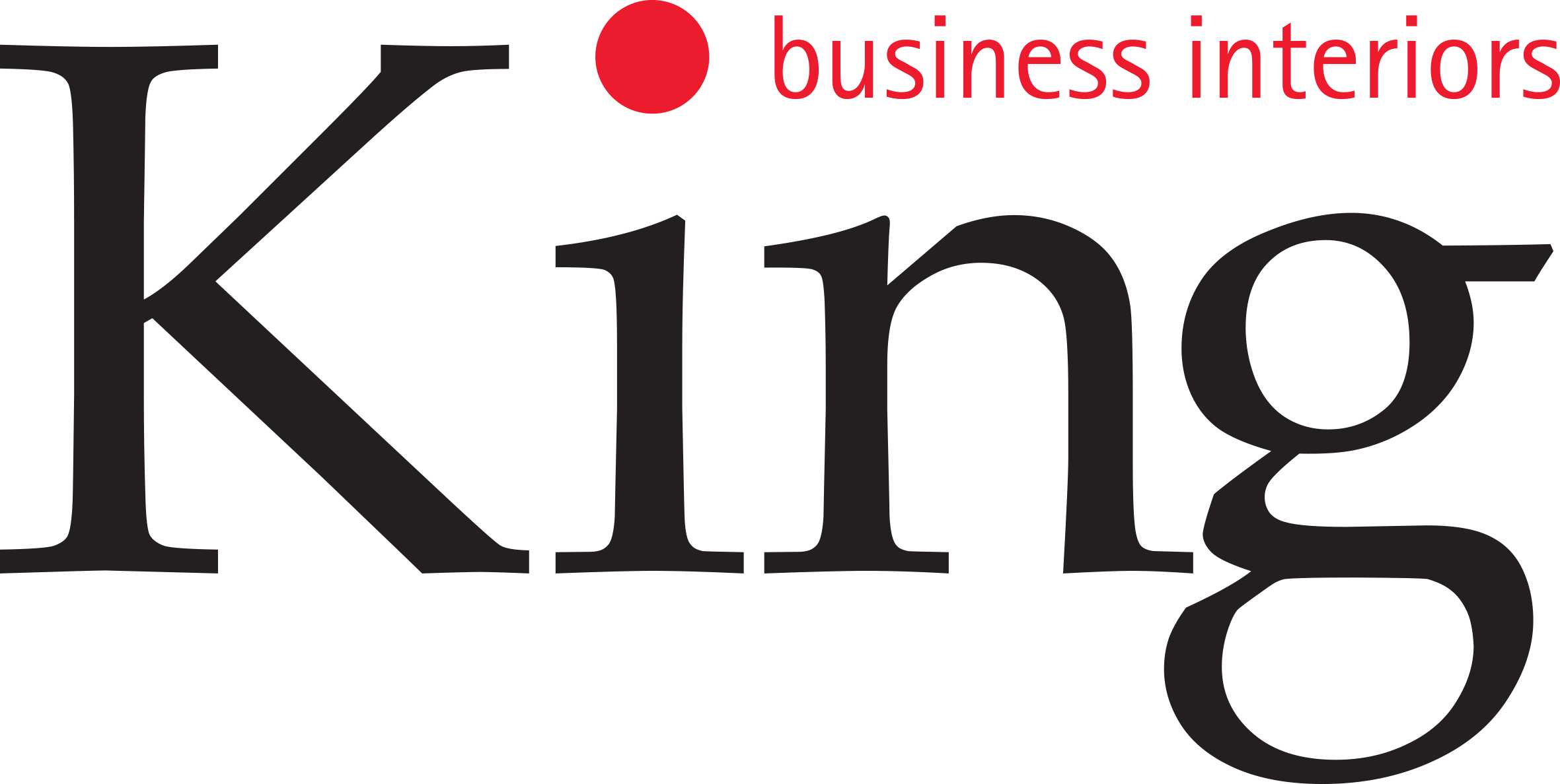King Business Interiors logo