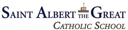 Saint Albert the Great School logo