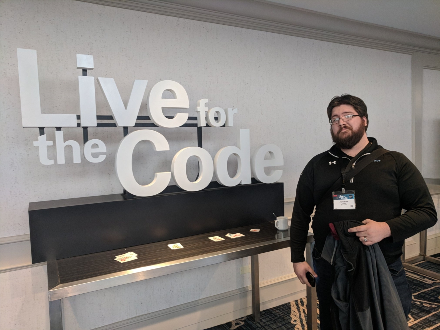 Director of Research & Technology, Jeremiah Evans lives for the code.