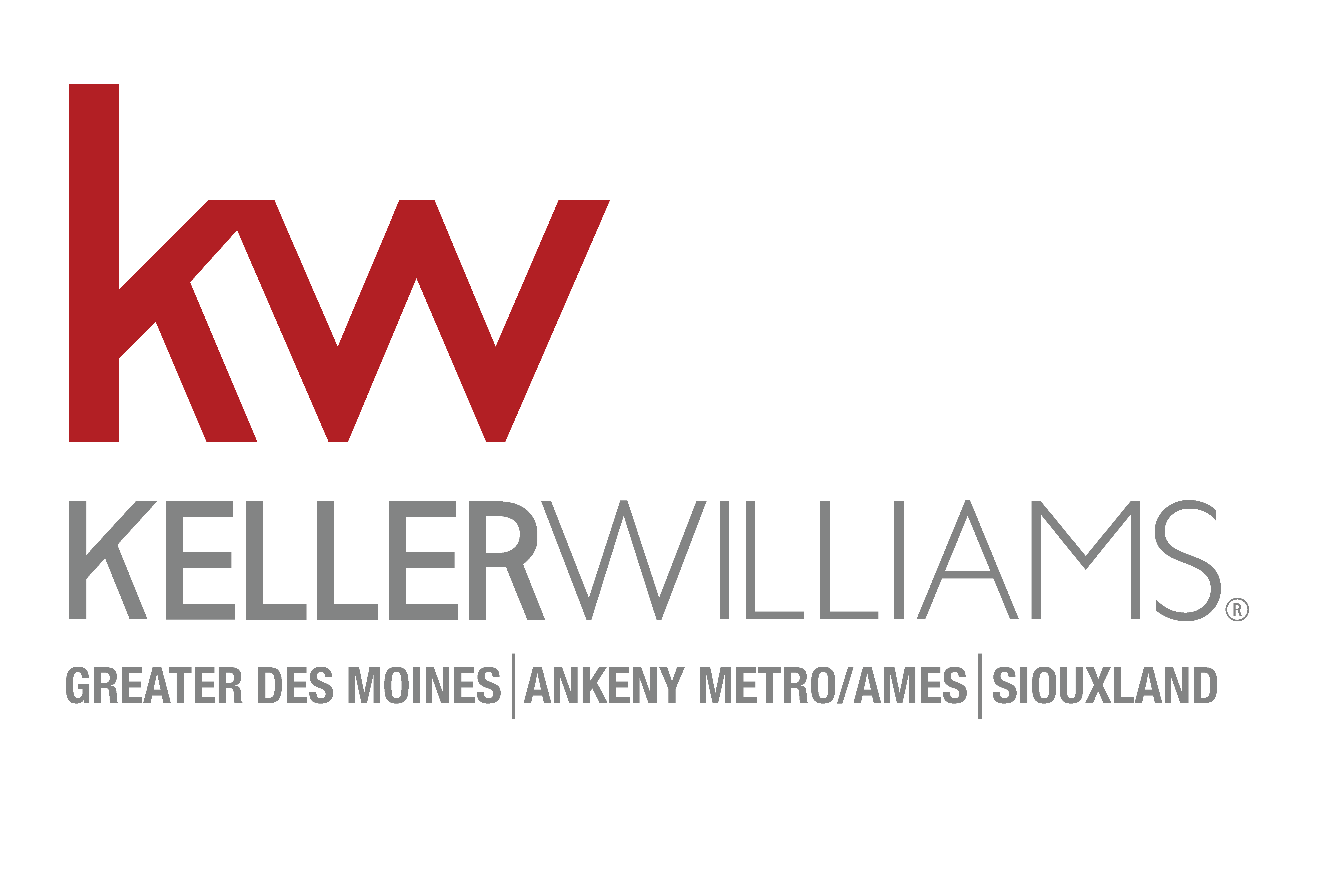 Keller Williams Greater Des Moines/Altoona/Ankeny Metro/Ames/Alliance (Clear Lake)/Siouxland logo