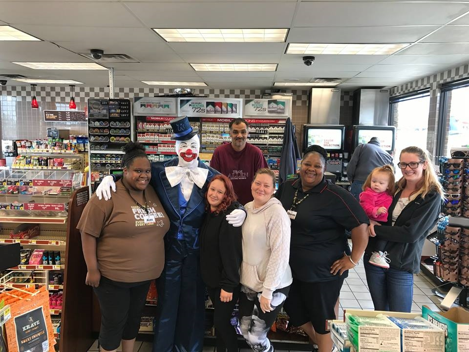 Pops (Jay Ricker) and Store Team