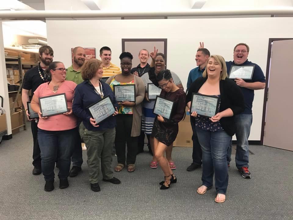 Ricker's Business Academy Graduates