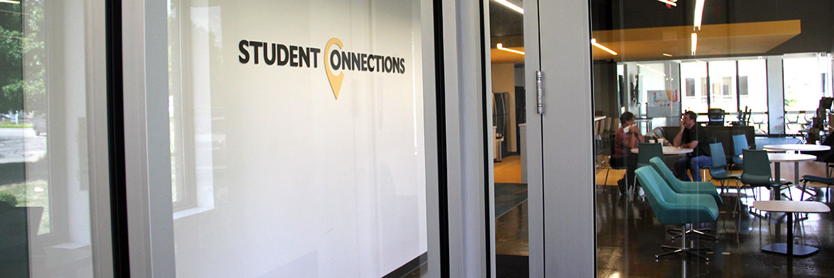 Student Connections office entrance.