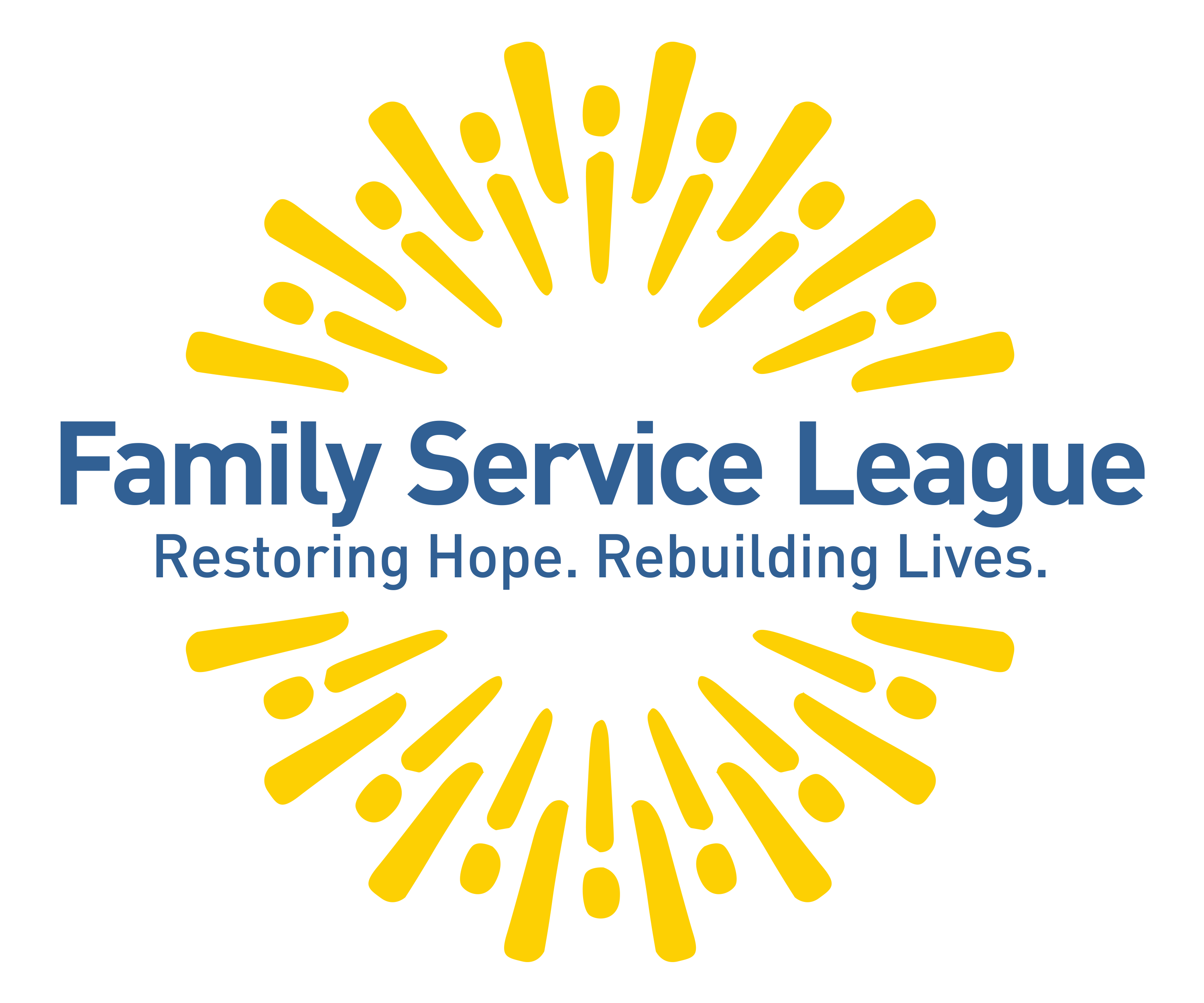 Family Service League. INC. logo