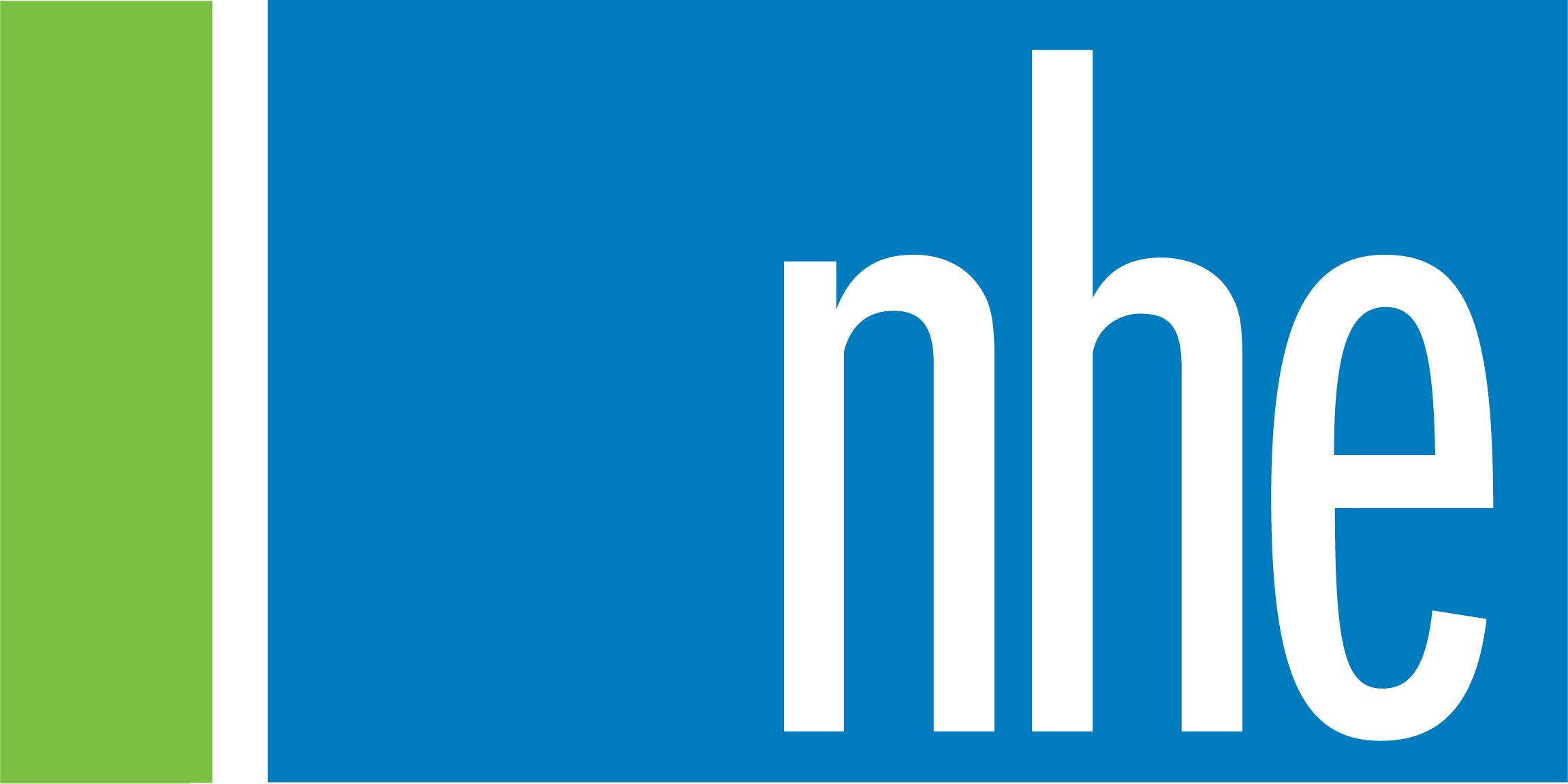NHE logo