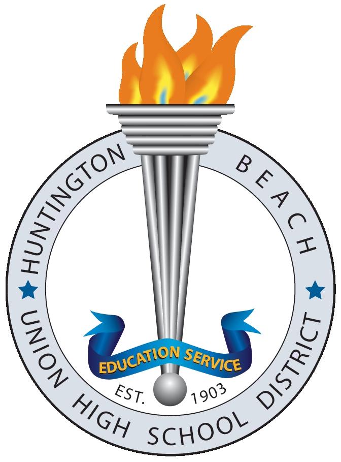 Huntington Beach Union High School District logo