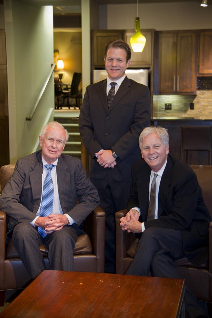 (left to right) Joe McGraw, Luke Strawn (President) and John Woolman