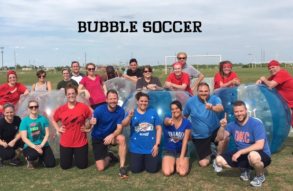 Our employees enjoy many team building activities throughout the year - Riversport Adventures, Bubble Soccer, Minute to Win It and Tailgate Parties to name a few.  A team that plays together, stays together!