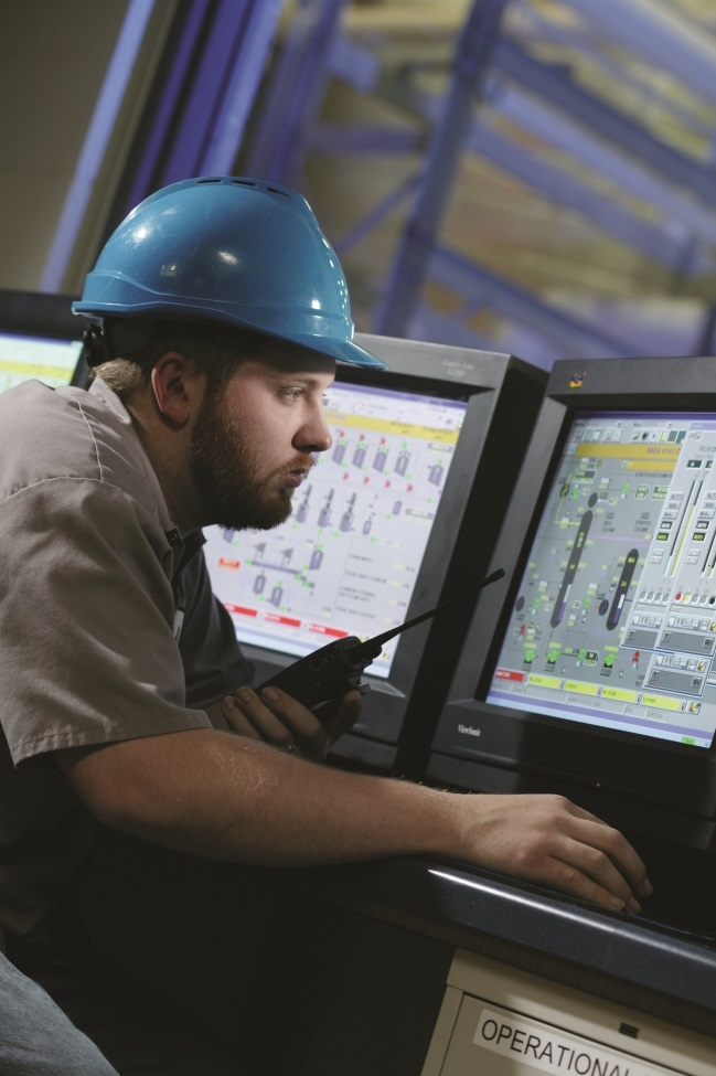 Proconex solutions in action - Chemical Plant Control Room