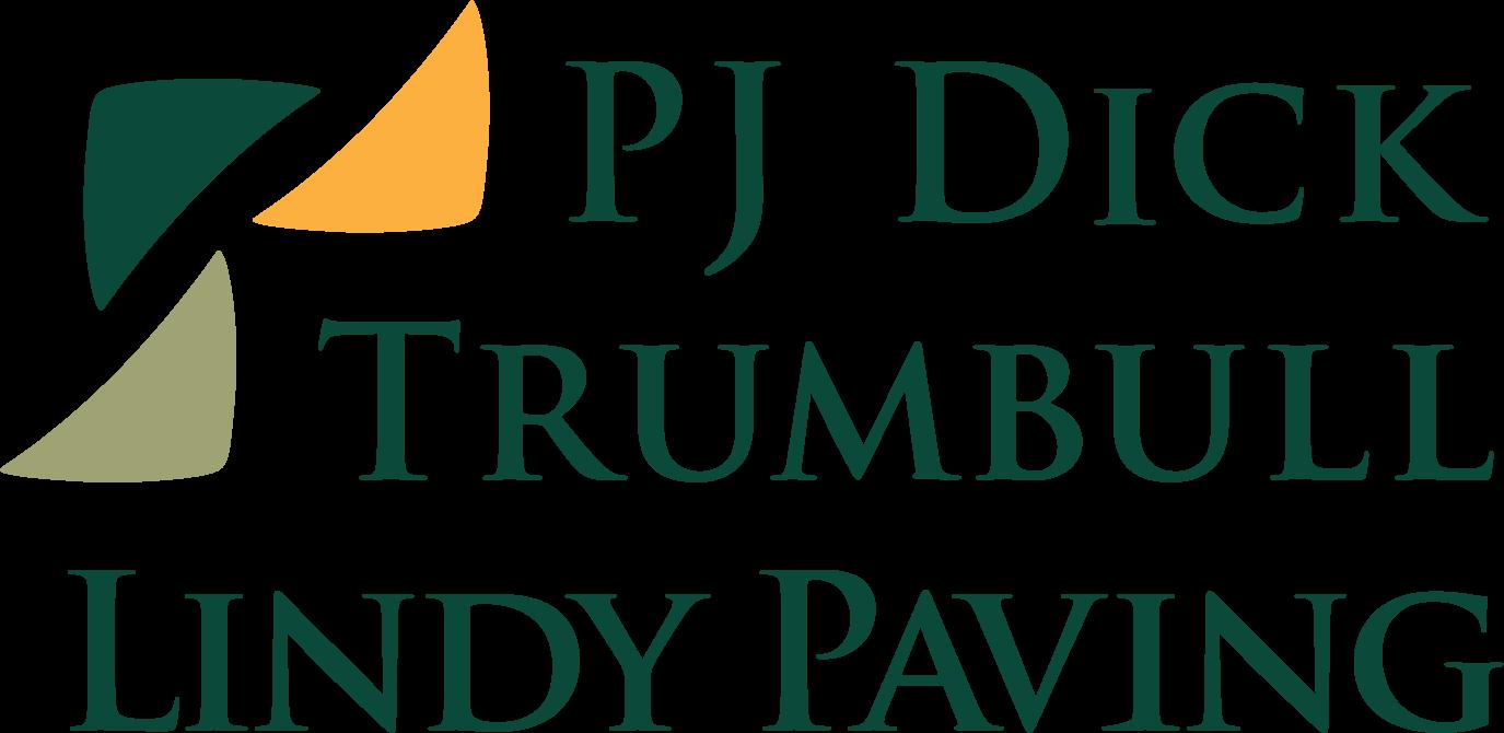 PJ Dick, Trumbull, & Lindy Paving logo