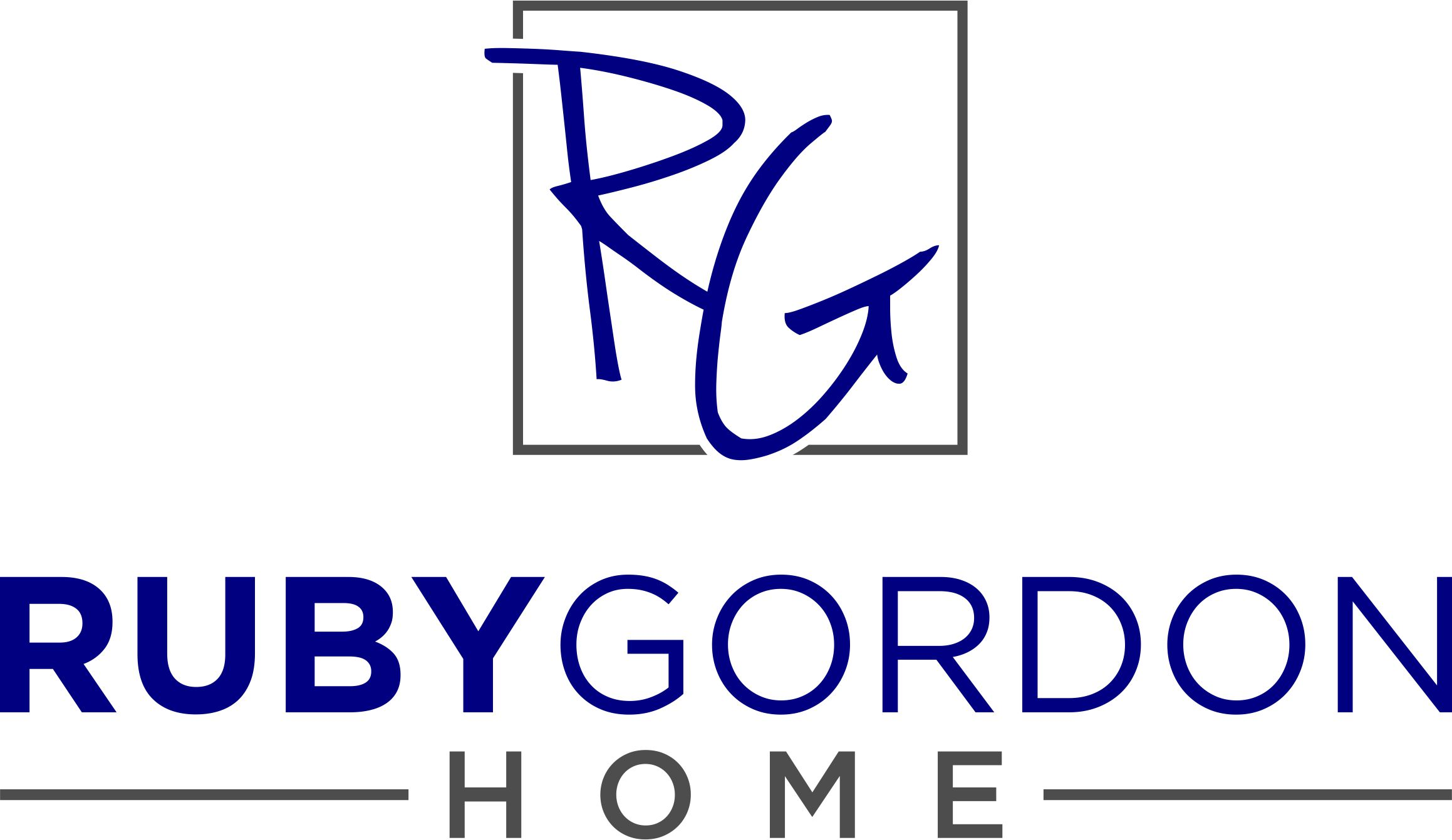 Ruby-Gordon Home Company Logo