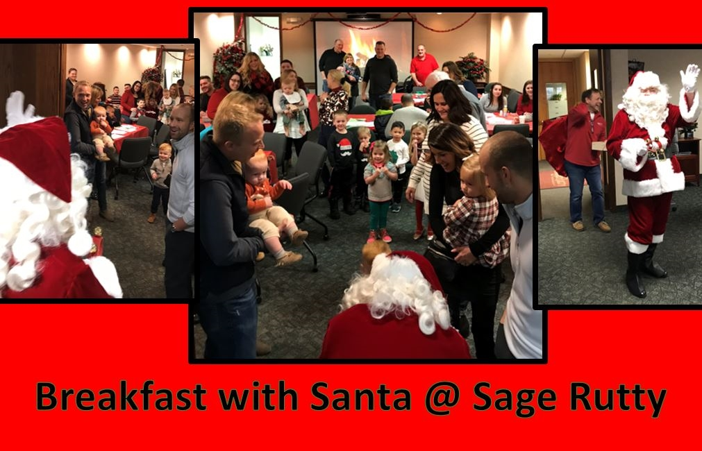 2018 Breakfast with Santa was our largest yet!
