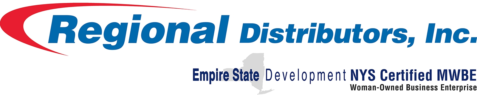 Regional Distributors, Inc. is a proud family-owned and NYS Certified Women's Business Enterprise (WBE) that delivers efficient commercial products and equipment that meet unique business needs and customer service that exceeds expectations.