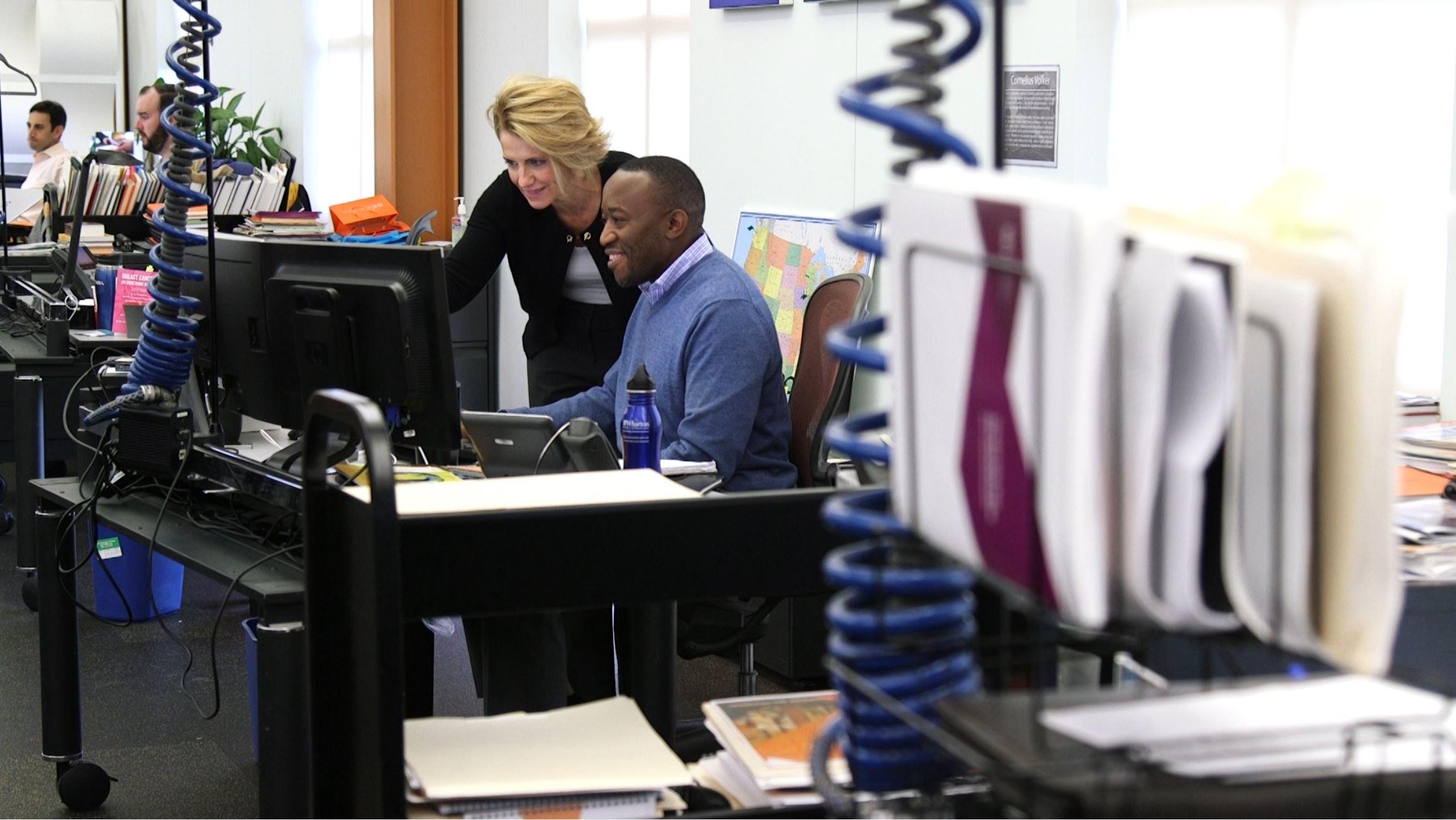 SEI Employees Working
