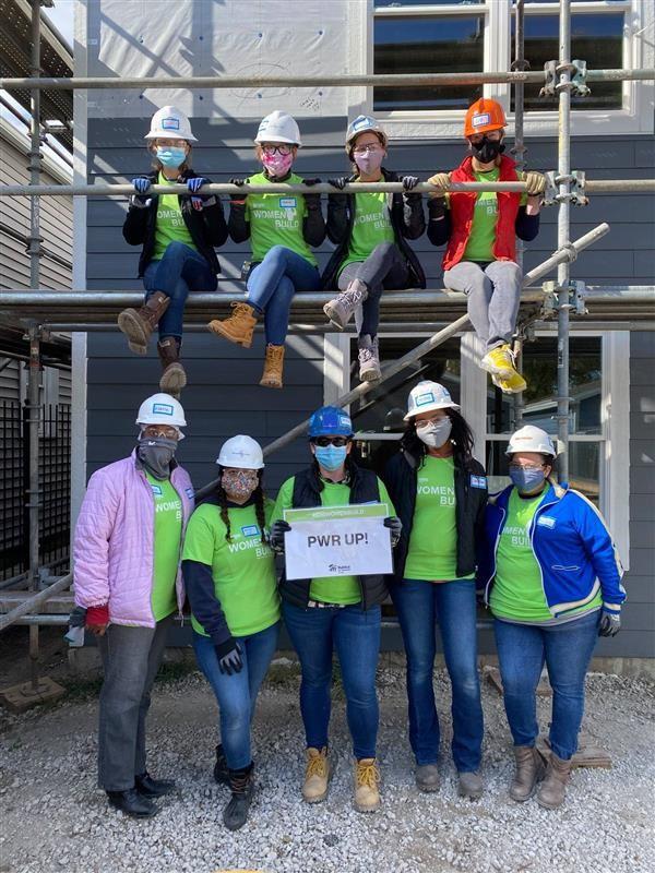 Habitat for Humanity 2020 Women Build event