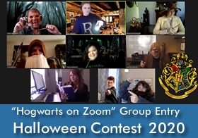 Annual Halloween Contest - Group Entry Wins