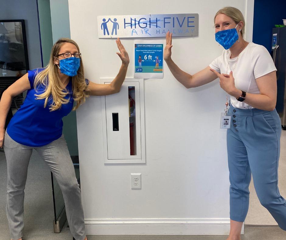 High (Air) Five Hallway