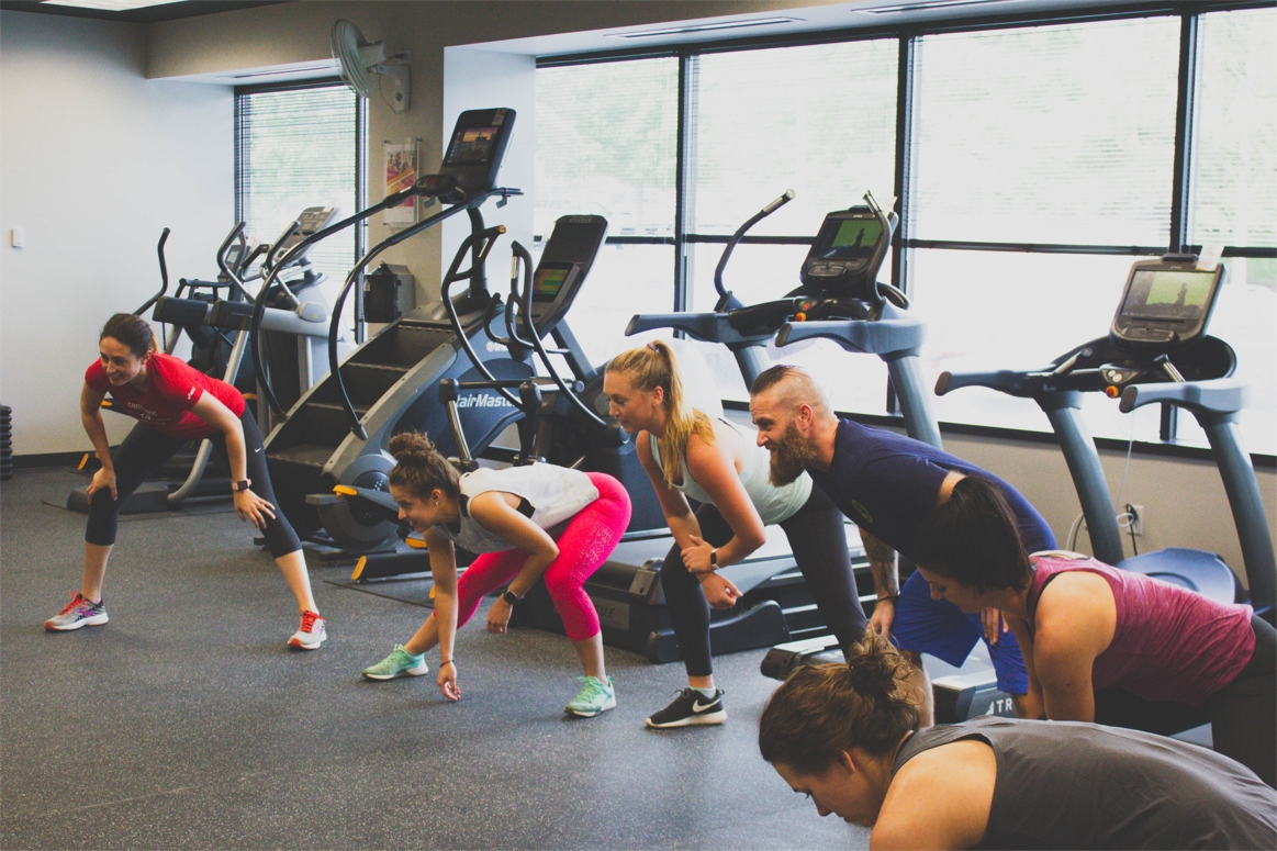Before the pandemic, our team members enjoyed participating in various classes offered at our fitness center