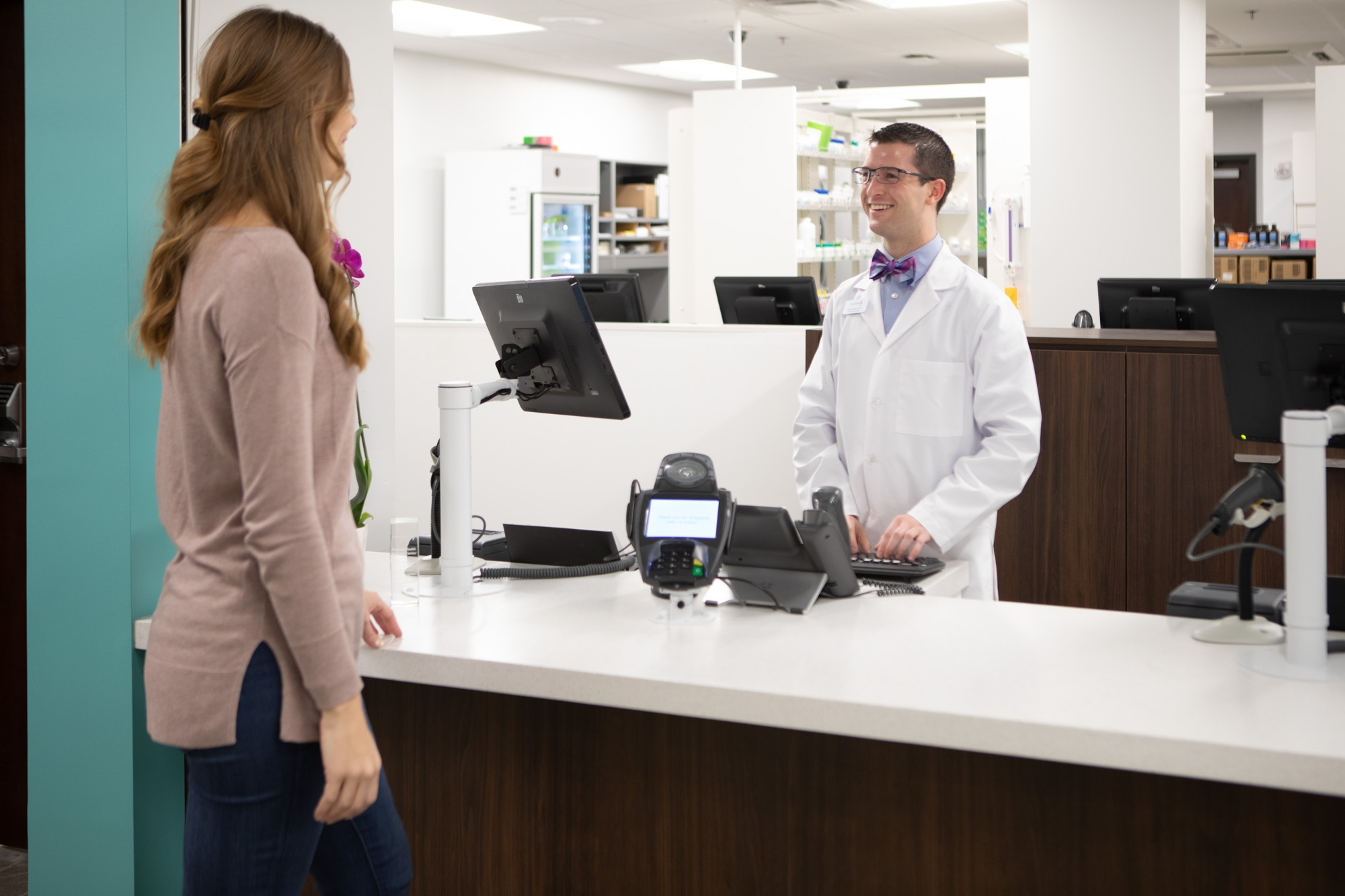 Team members have access to an onsite wellness center and pharmacy, making it convenient to get care when they need it