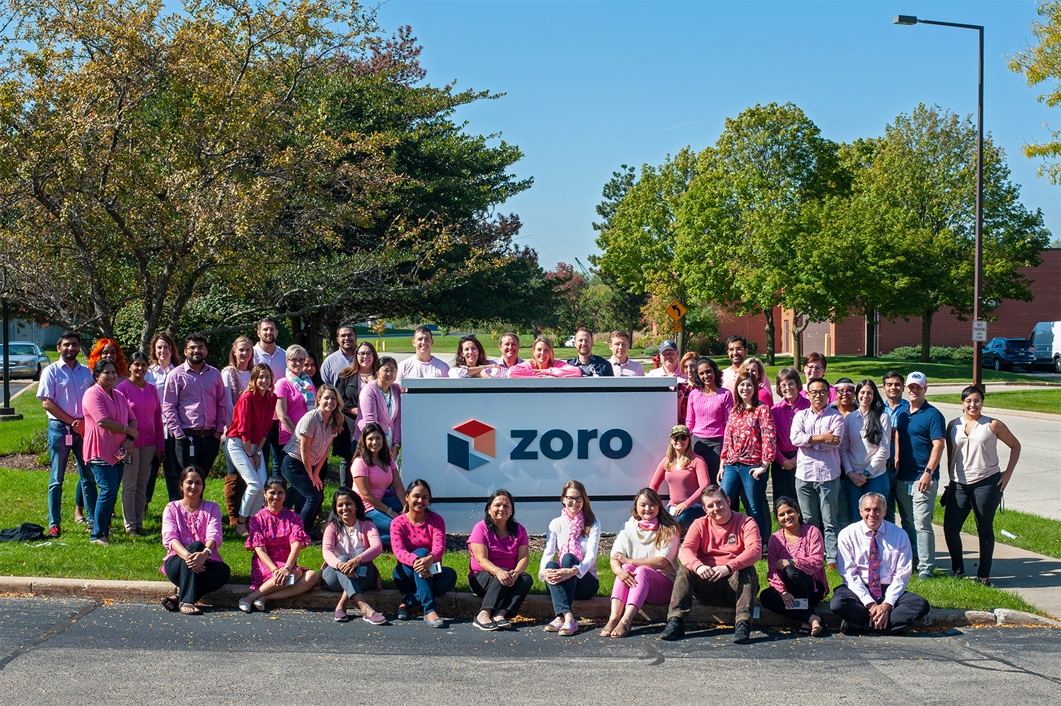 Breast Cancer Awareness at Zoro