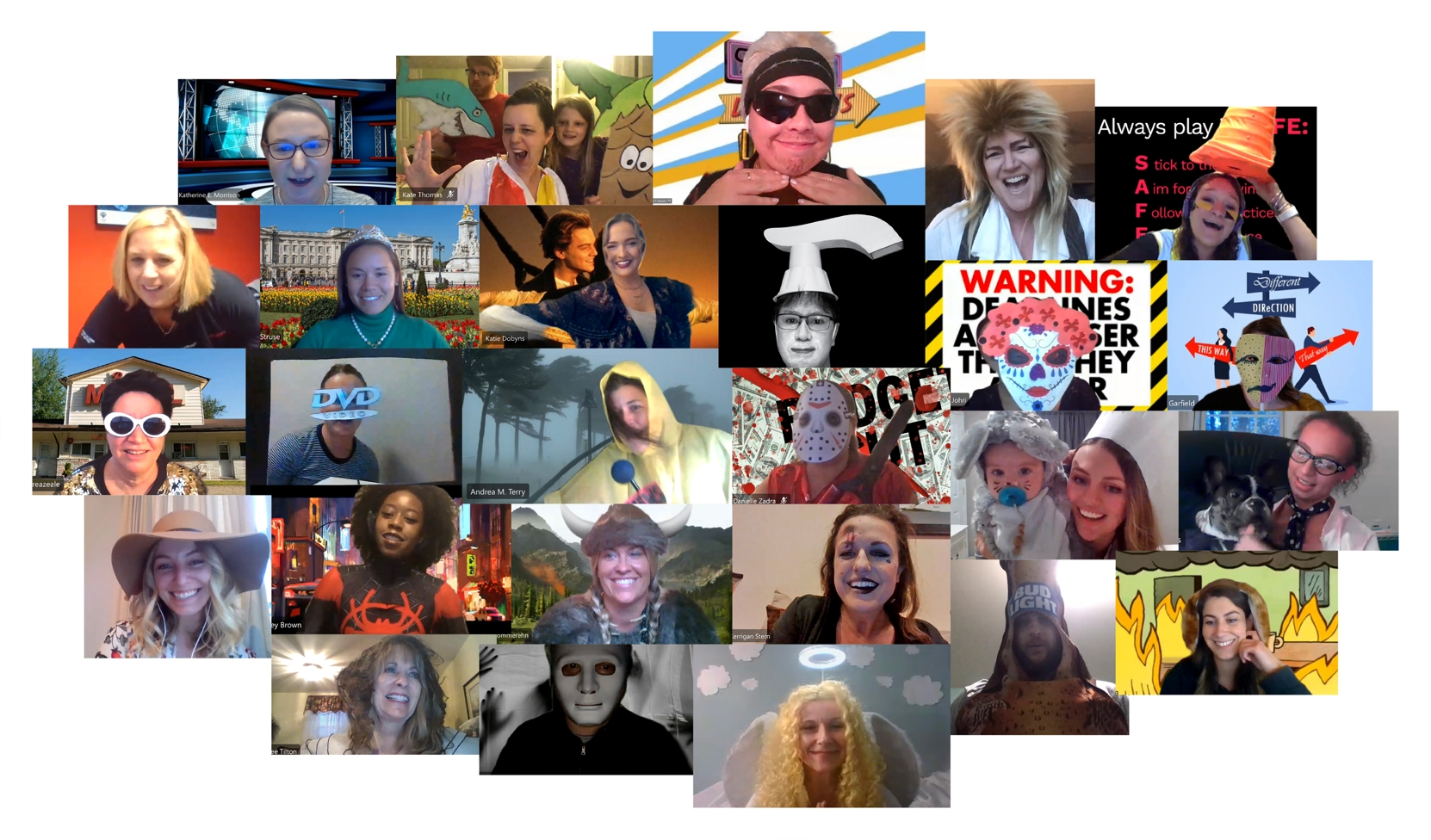 Crosby's annual Boo Bash Halloween party went virtual in October 2020.