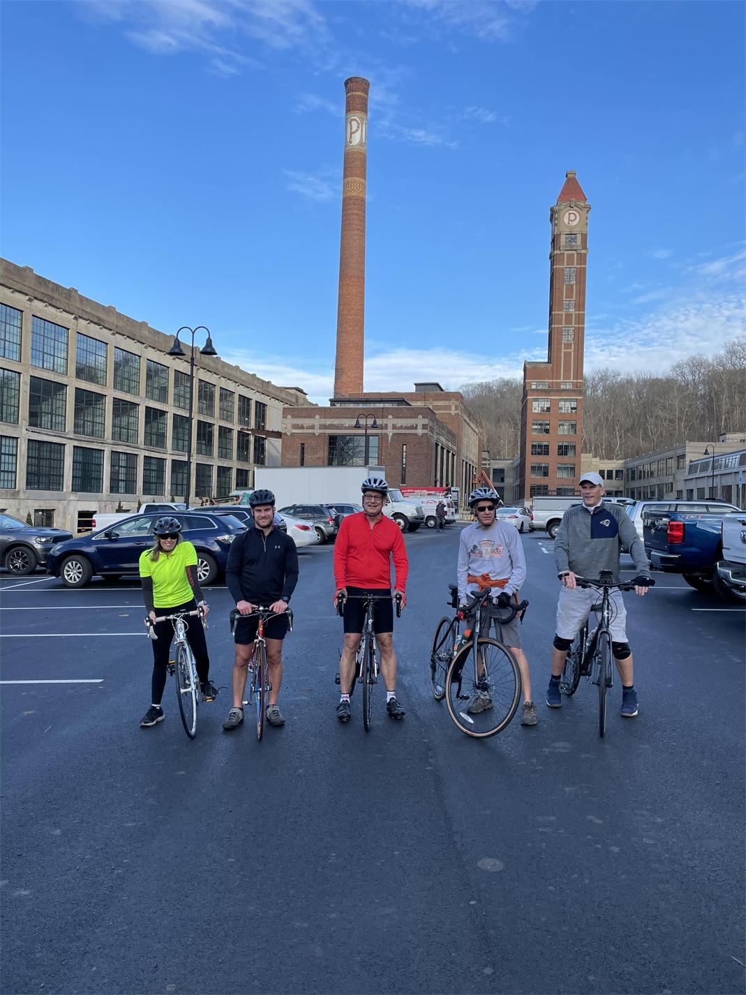 Riding together as a team for Ride Cincinnati 2020