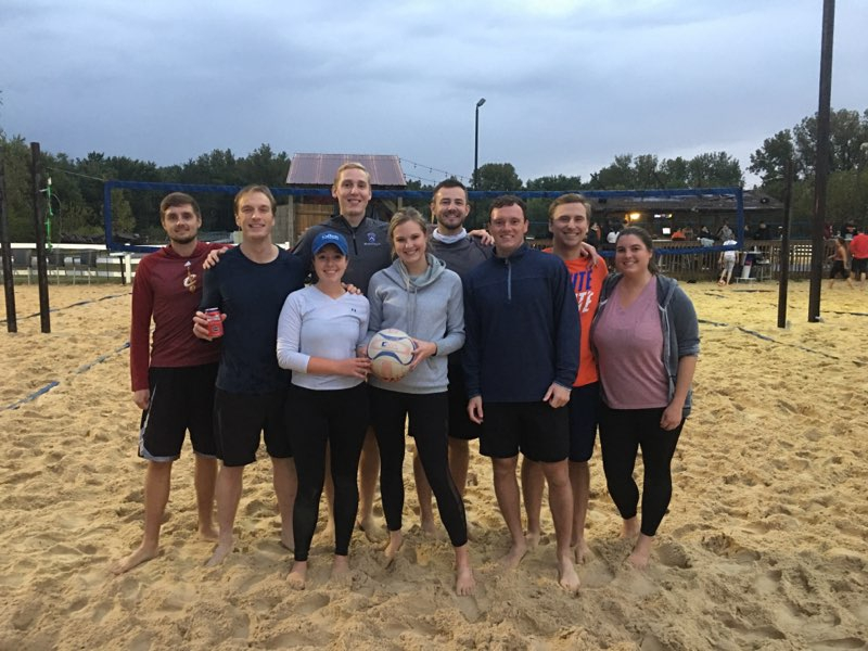 Office Sand Volleyball Team