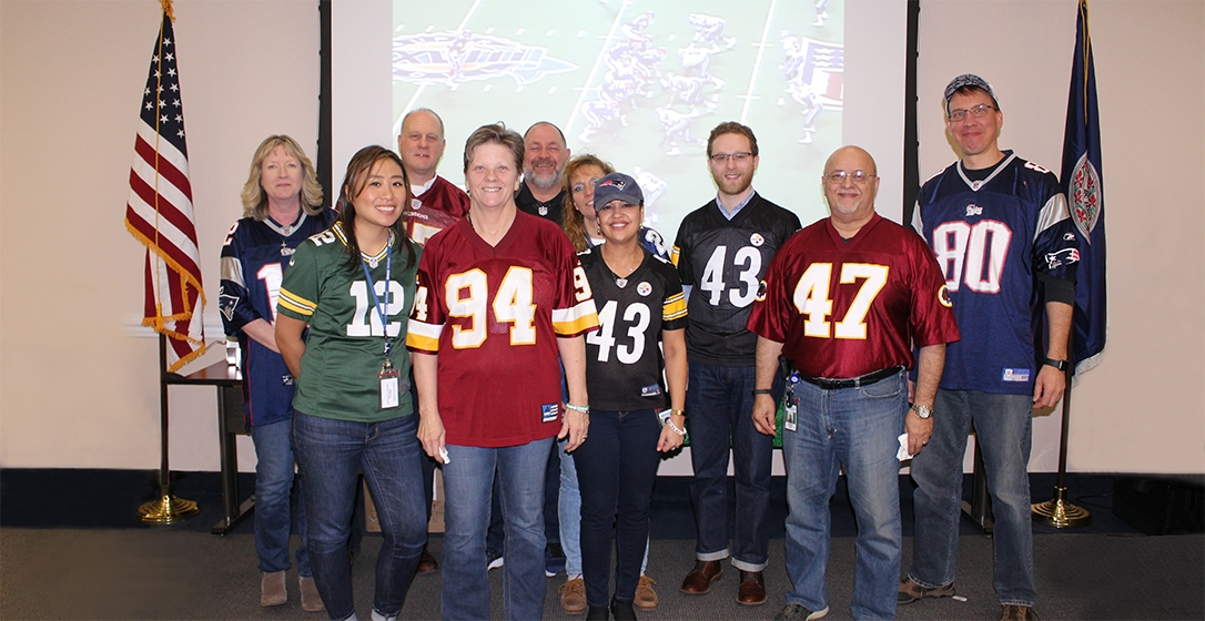ENSCO – Employees at Superbowl event