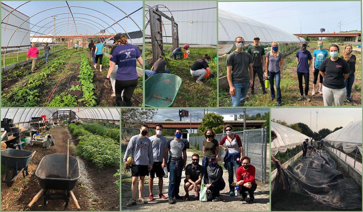 Volunteering at Riverwest Food Pantry