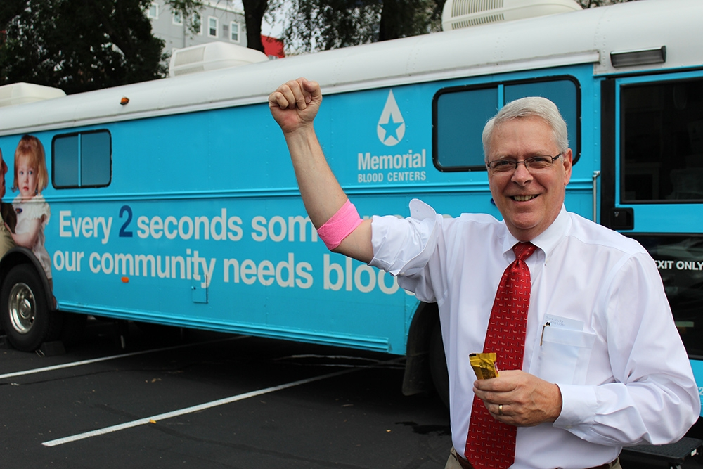 We proudly give back to our community and host regular blood drives.