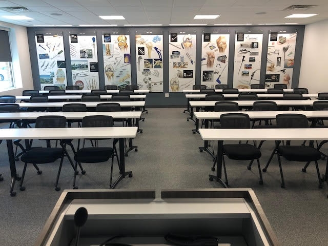 Our Training Room