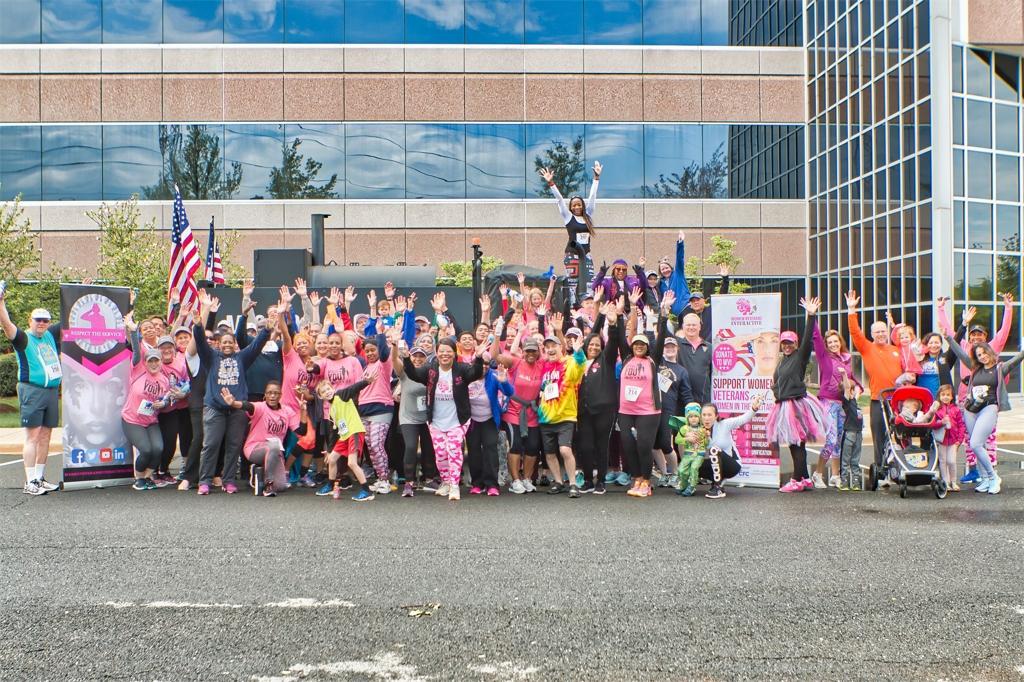 B3 and WVI Charity Run for Women Veterans