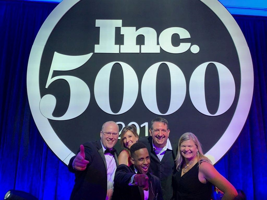 Inc. 5000 awards ceremony