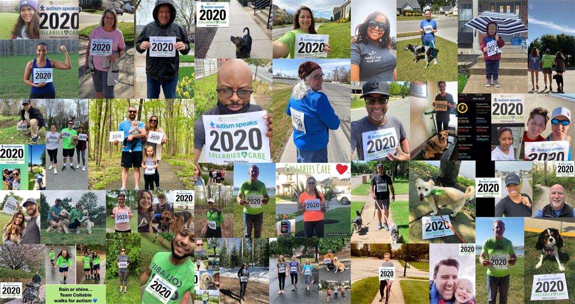 2020 Virtual Autism Speaks Walk