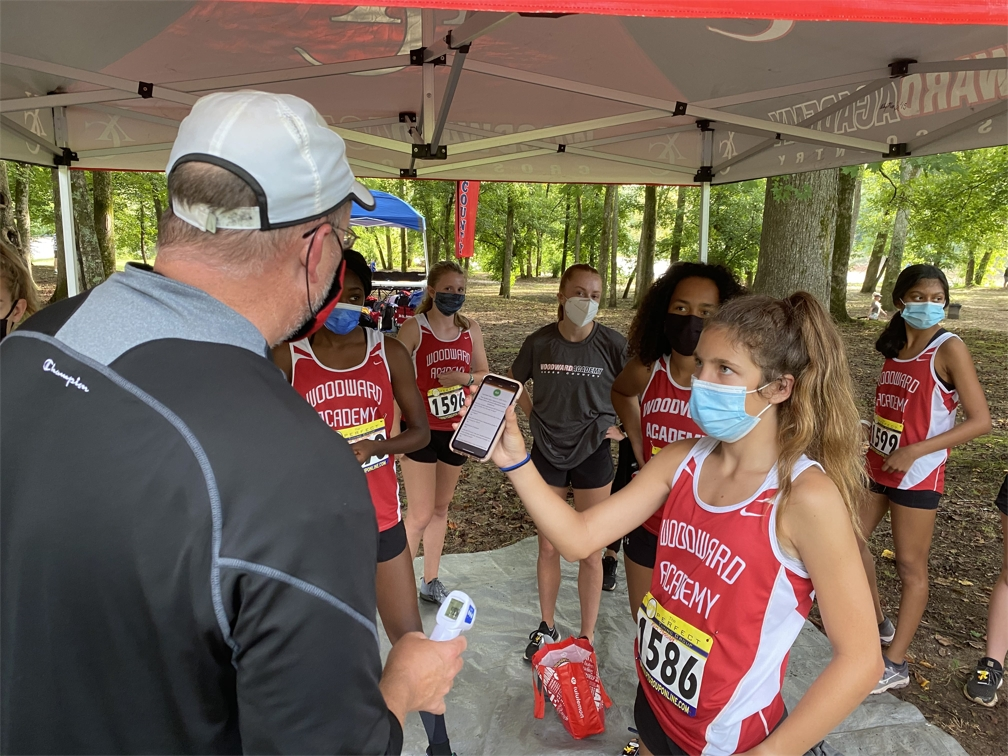 Woodward's_Cross_Country_team_performs_health_screening_check_before_competition.jpg