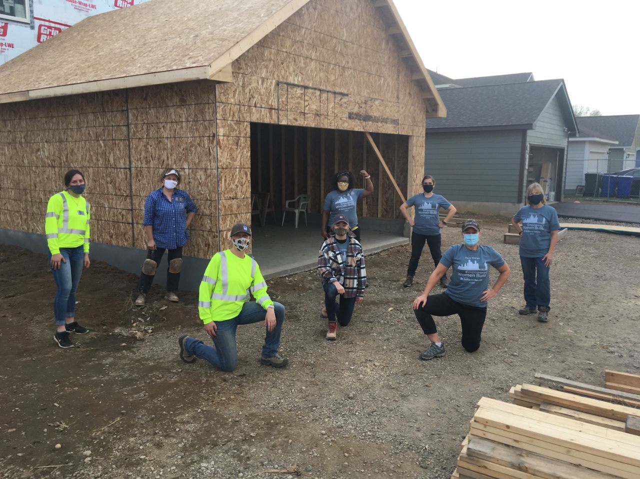 Building with Habitat for Humanity