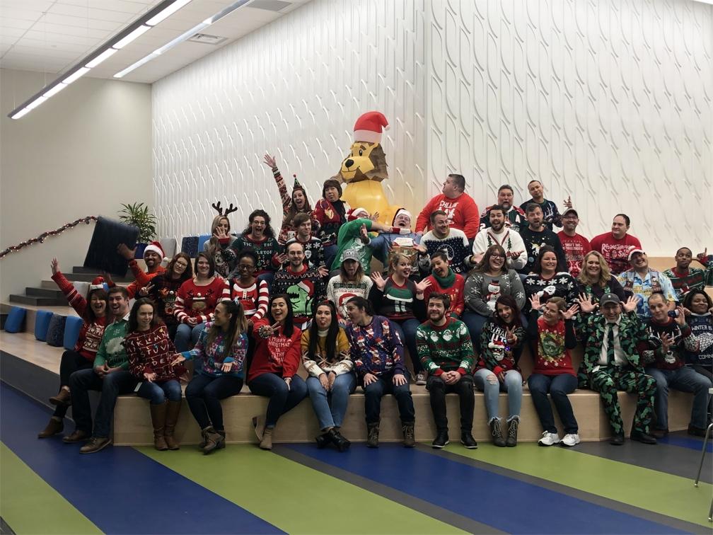 MRI Software Tacky Sweater Day