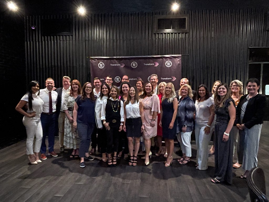 The inaugural graduating class of Transform Agent Coaching, a 12-week course designed to help agents elevate their careers.