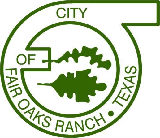 City of Fair Oaks Ranch Company Logo