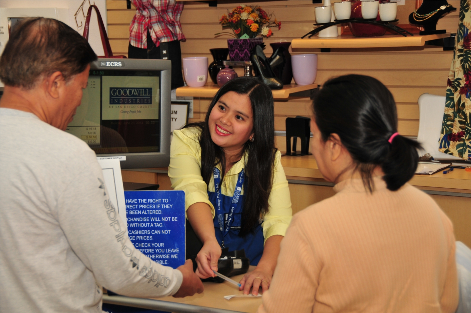 Goodwill has over 1,300 employees in San Diego County.  Leaders needed in retail, donations, support services, workforce development programs, recycling and much more!