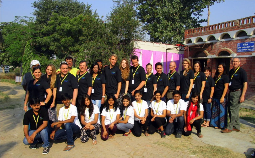 Intuit employees took on a special project in northern India to help women entrepreneurs. 10 employees were picked for this prestigious volunteer opportunity to teach financial literacy and entrepreneur skills in India for a week.