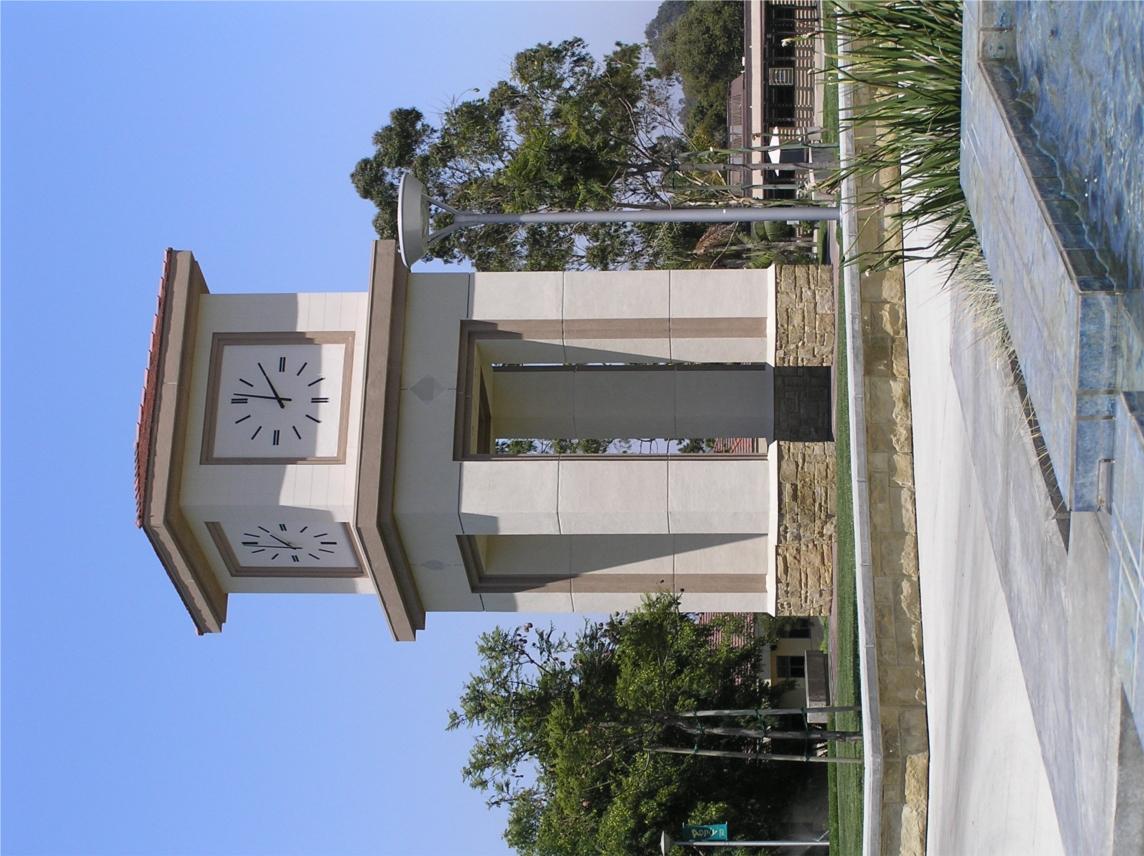 Oceanside campus clocktower