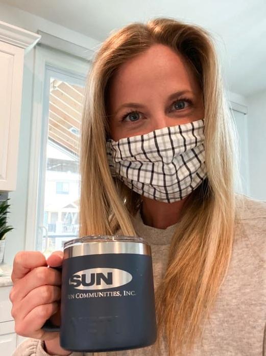 Virtual Spirit Week at Sun, featuring Mask Monday!