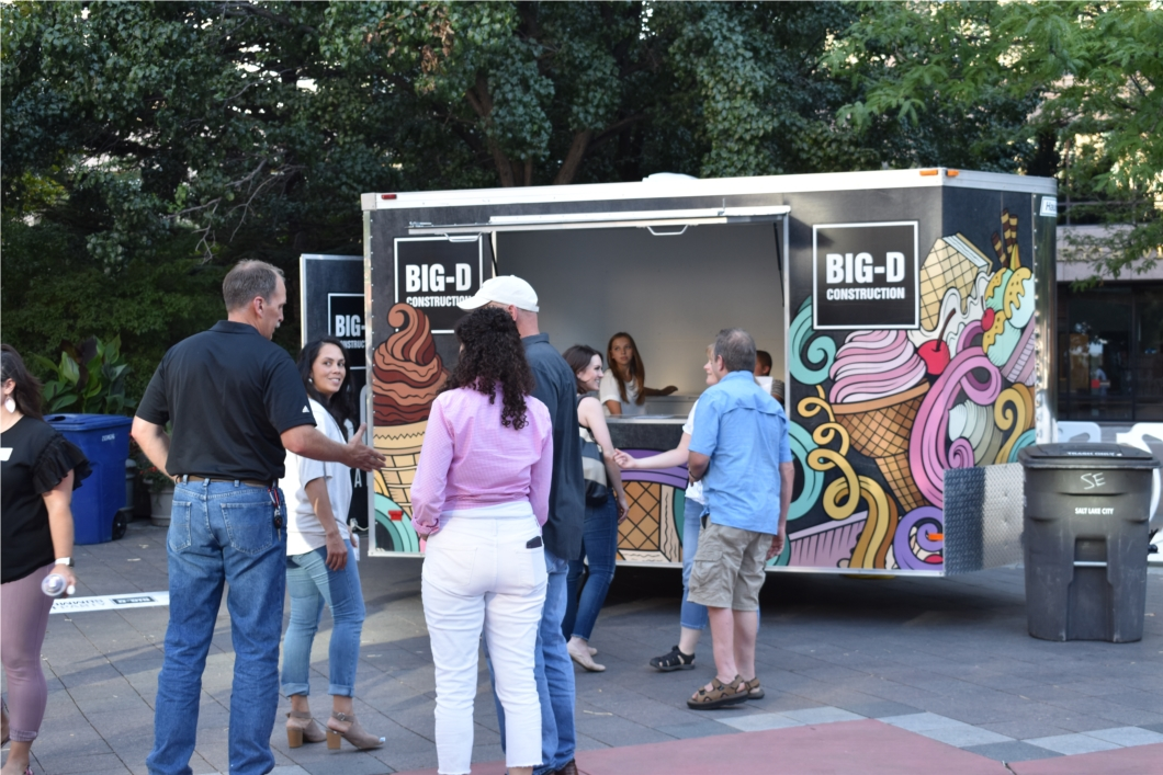 Big-D Ice Cream Truck at our Summer Party (2019)