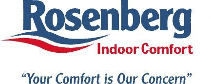 Rosenberg Indoor Comfort Company Logo