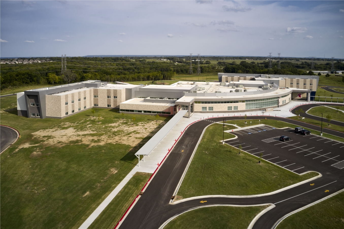 Bixby Public Schools, New West Intermediate and Elementary, Bixby, OK. Completed Summer 2020
